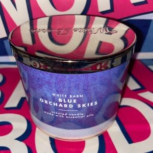 Blue orchard skies 3 wick candle